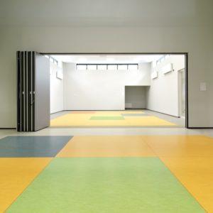 Defan marmoleum vloer