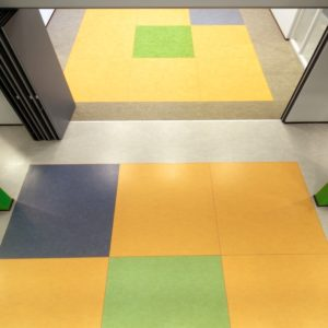 Defan marmoleum vloer 3